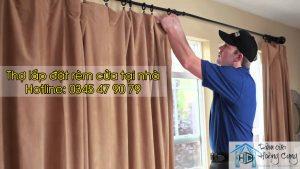 thợ lắp đặt sửa chữa rèm cửa Hoàng Cung
